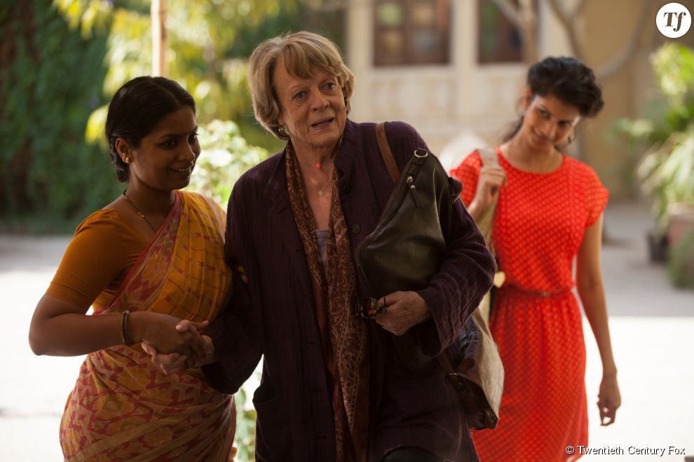Maggie Smith, irrésitible dans Indian Palace : Suite royale