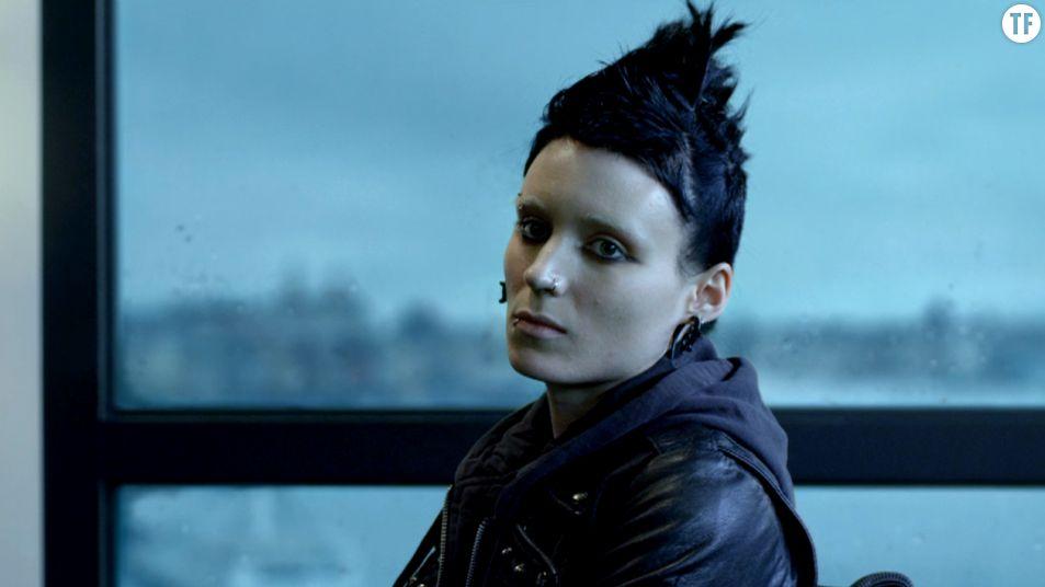 """Rooney Mara dans l'adaptation de """"Millénium : les hommes qui n'aimaient pas les femmes"""" par David Fincher (2012)."""