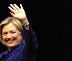 """Hillary Clinton lors de son interview pour le """"Zeit"""" à Berlin, le 6 juillet 2014."""