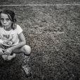 La photographe voulait montrer que les petites filles pouvaient être braves