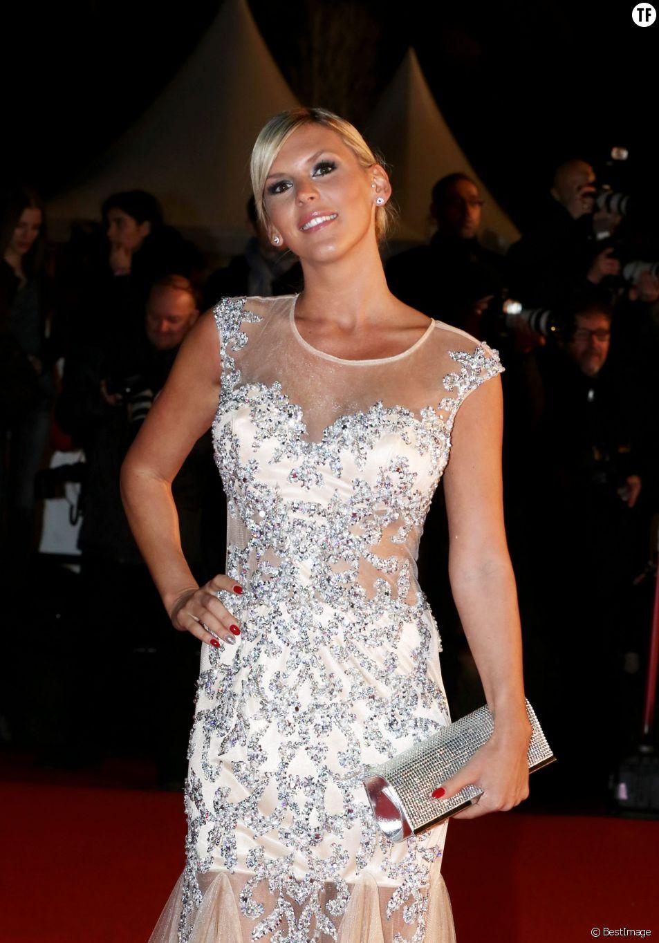 Amelie Neten - 15eme edition des NRJ Music Awards a Cannes. Le 14 decembre 2013