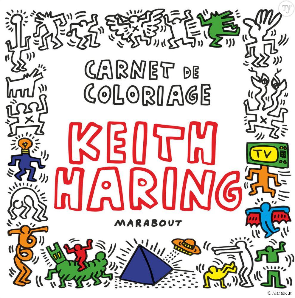 Carnet de coloriage Keith Haring