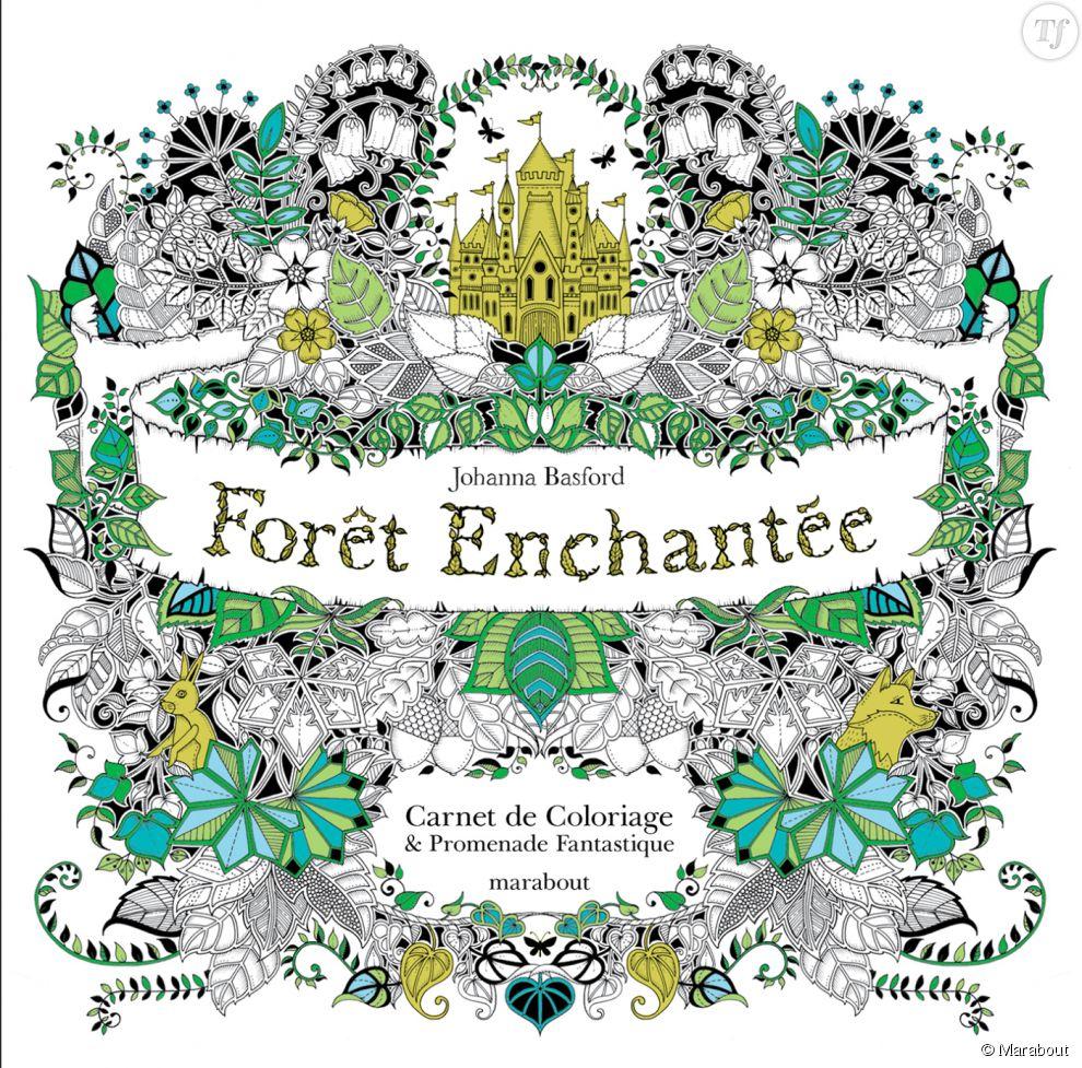 Forêt Enchantée : carnet de coloriage & promenade fantastique