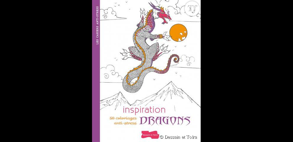 Inspiration dragons : 50 coloriages anti-stress