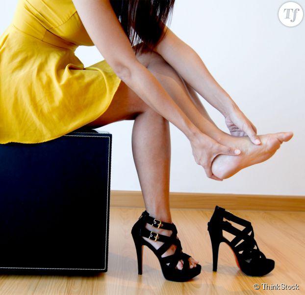 comment avoir moins mal au pied