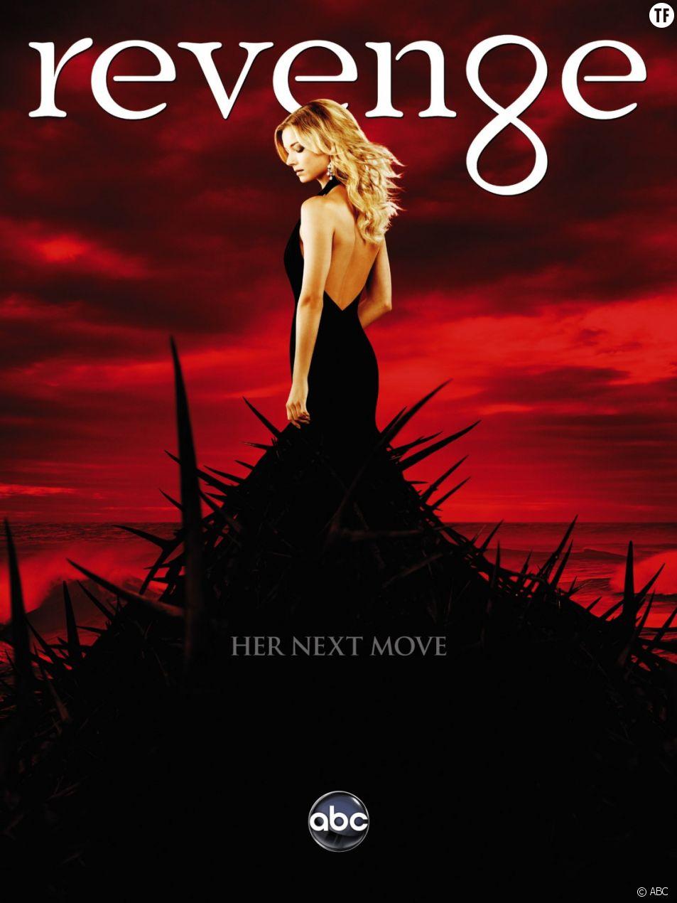 Poster de Revenge, annulée après 4 saisons