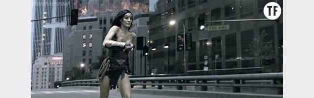 Pour se battre comme Wonder Woman il va tout de même falloir quelques entraînements