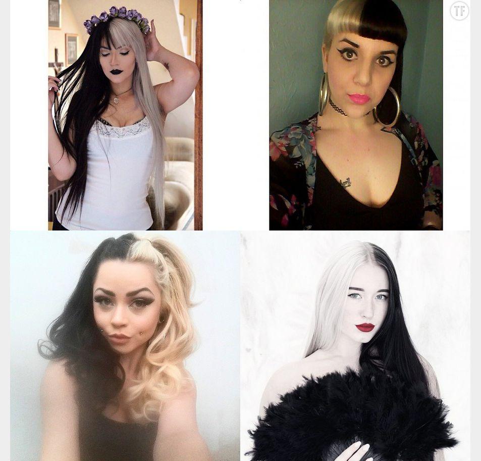 Tendance Cruella hair, split hair