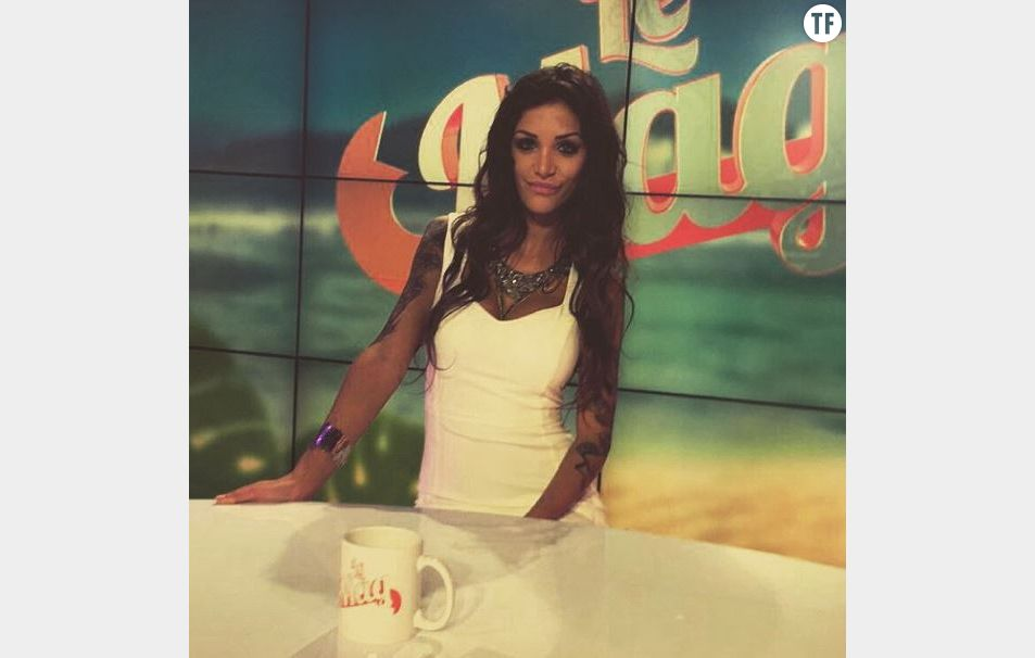 Julia était récemment présente sur le plateau du Mag de Matthieu Delormeau
