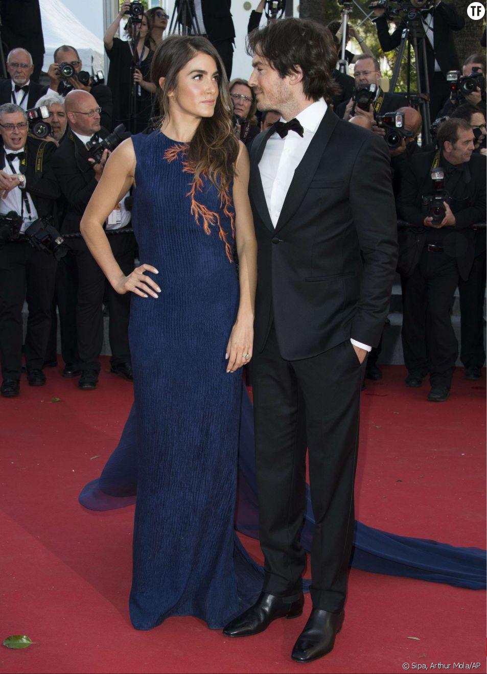Ian Somerhalder et Nikki Reed complices sur les marches du Festival de Cannes