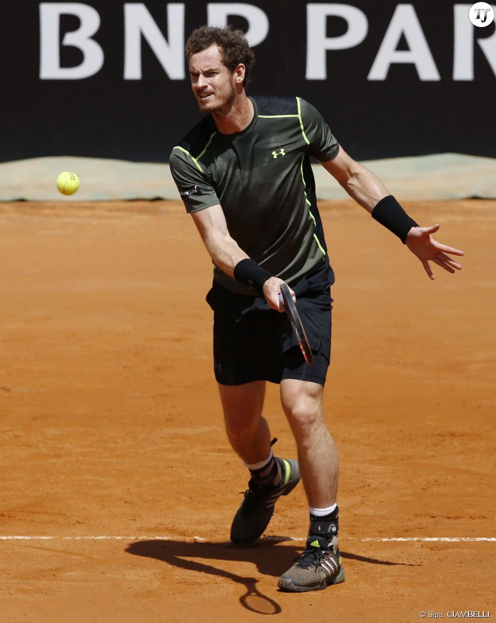 Andy Murray à Rome le 13 mai 2015.