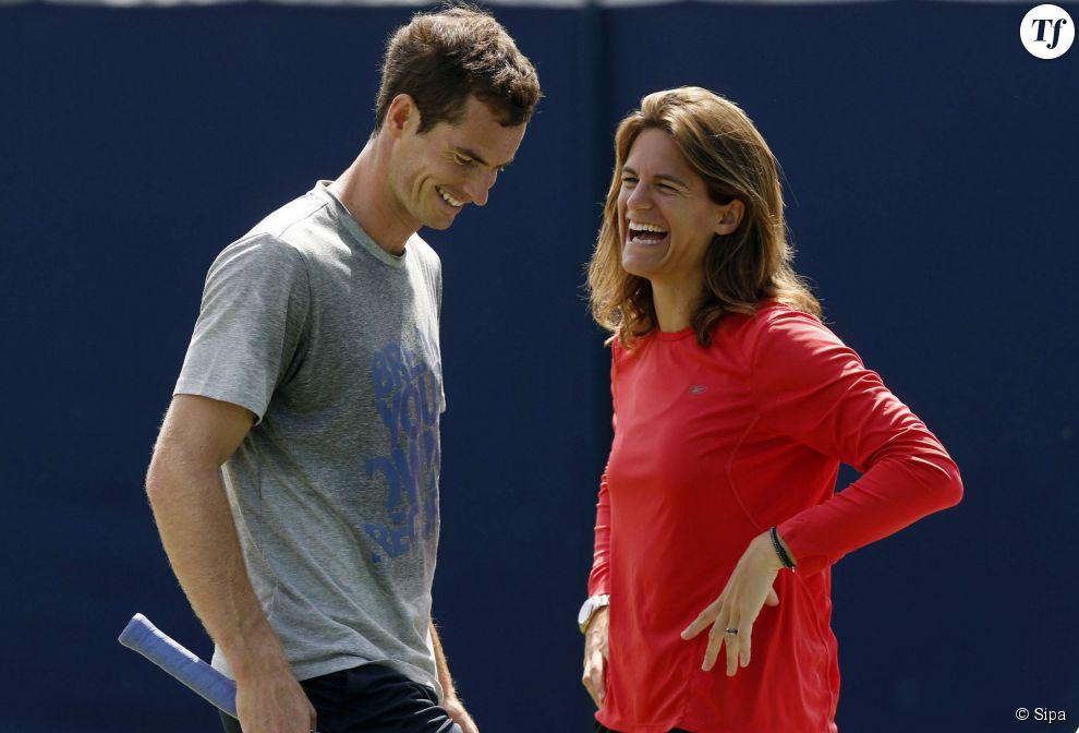Andy Murray et Amelie Mauresmo : une belle complicité
