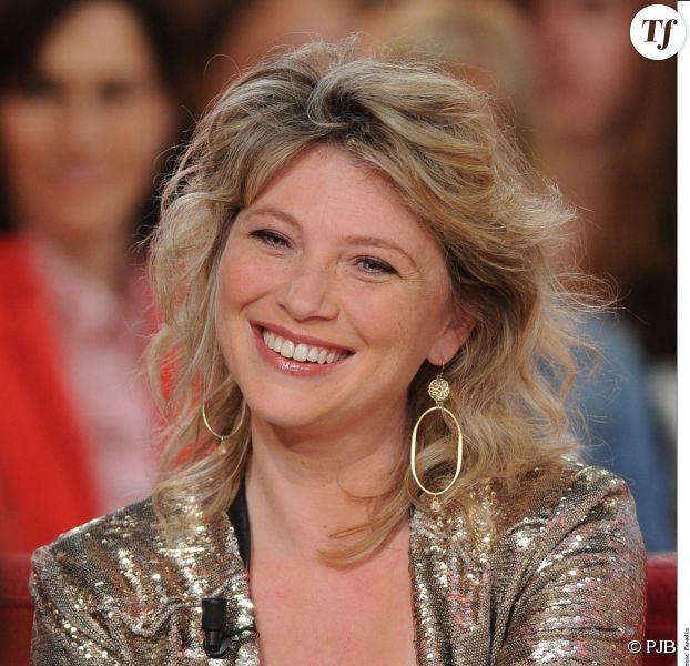 Cécile Bois, invitée de l'émission vivement Dimanche en avril 2014