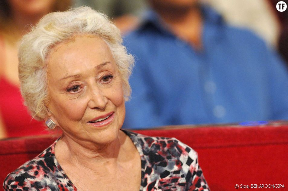 Menie Gregoire au Vivement Dimanche Special Genevieve de Fontenay en 2007