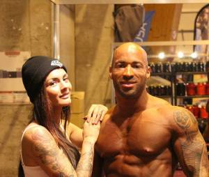 Le couple au salon du body fitness de Colmar en mars dernier
