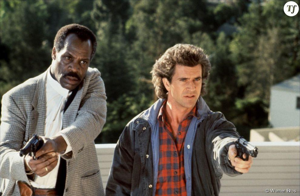 Mel Gibson et Danny Glover dans L'Arme Fatale
