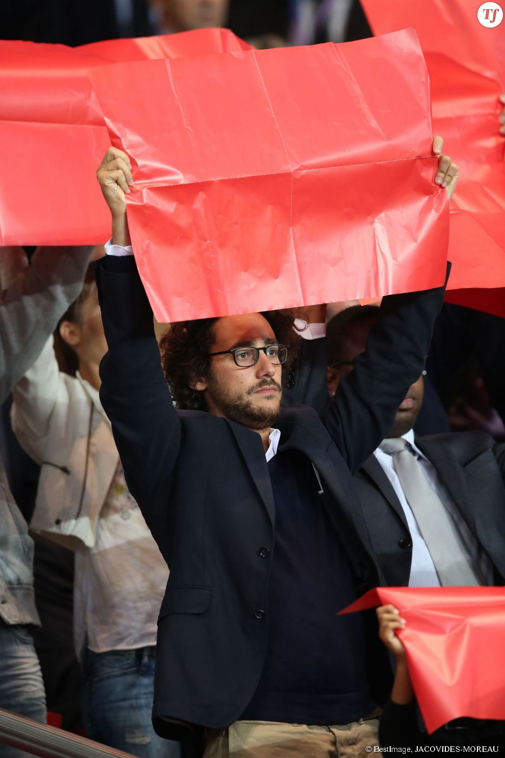 Thomas Hollande au match Psg - Monaco au Parc des Princes, le 22 septembre 2013.
