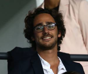 Thomas Hollande assiste au match PSG-Barcelone de la Ligue des Champions 2014 au parc des princes à Paris le 30 septembre 2014.