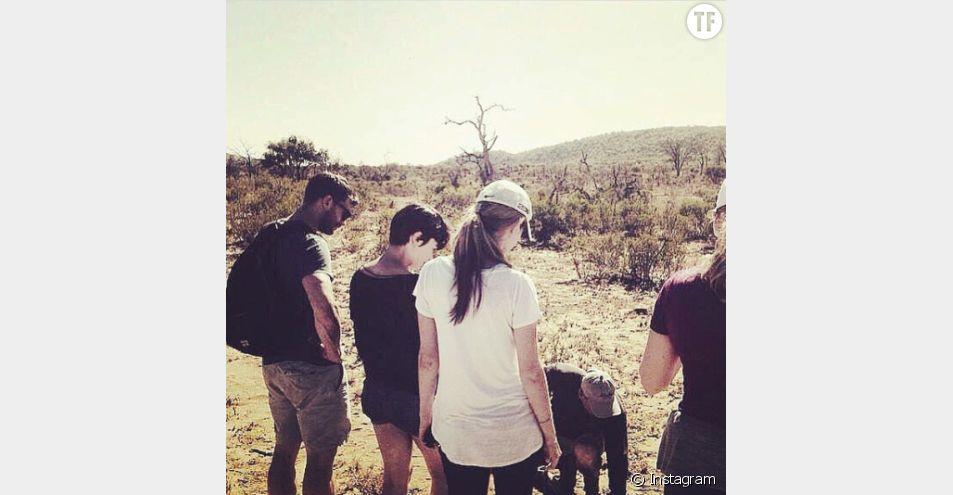 Jamie Dornan et sa femme Amelia Warner en Afrique du Sud en juin 2015