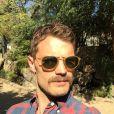 Jamie Dornan et sa nouvelle moustache en Afrique du Sud