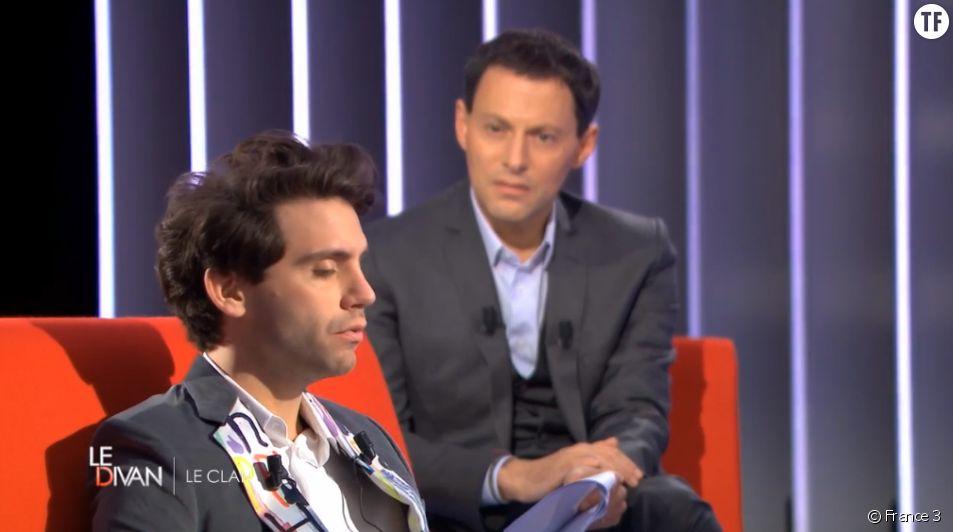 """Mika était mardi 16 juin l'invité de l'émission """"Le Divan"""" sur France 3."""