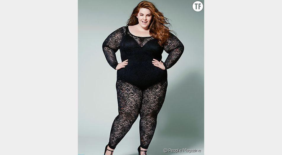 """Tess Holliday pose pour le célèbre magazine """"People"""""""