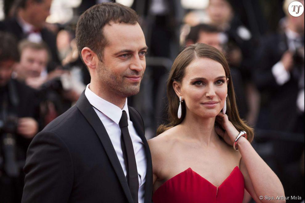 Natalie Portman et Benjamin Millepied au Festival de Cannes.