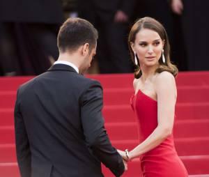Natalie Portman et son compagnon Benjamin Millepied.