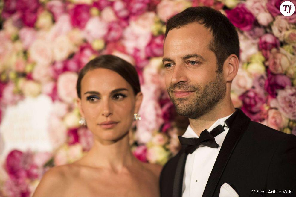 Natalie Portman et Benjamin Millepied au 68e festival de Cannes. le 16 mai 2015.