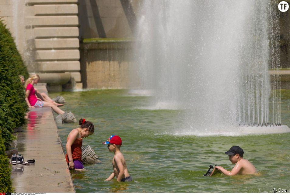 Les températures devraient atteindre 36°C, à Paris, mercredi.