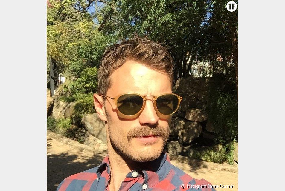 Jamie Dornan et sa nouvelle moustache