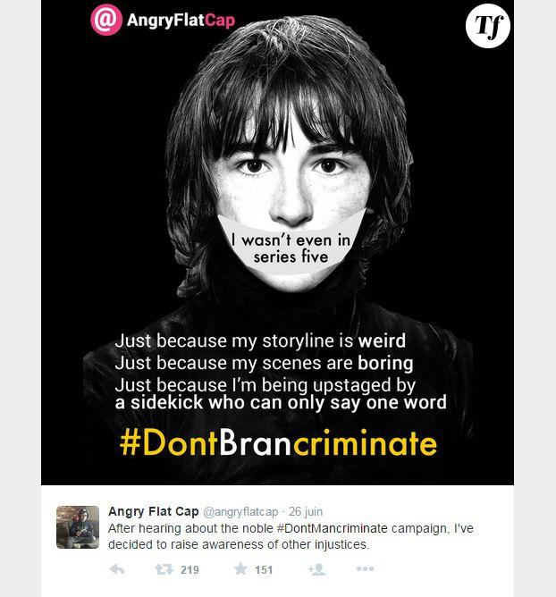 #DontBranCriminate