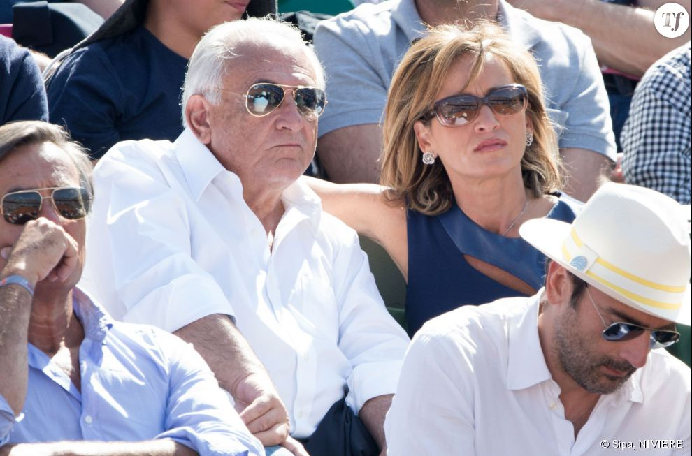 Myriam L'Aouffir et Dominique Strauss-Kahn le 30 mai 2015.