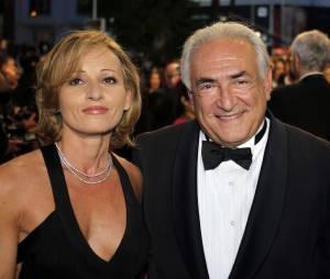 Myriam L'Aouffir et Dominique Strauss-Kahn au Festival de Cannes le 25 mai 2013.