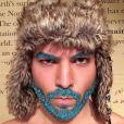 Merman hair : cheveux, barbe, et même sourcils !
