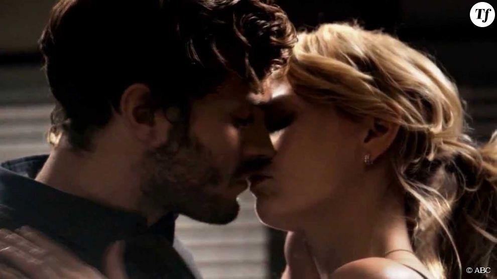 Le baiser de Jamie Dornan et Jennifer Morrison dans Once ...
