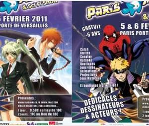 Programme et invités du Paris Manga & Sci-Fi Show 2011