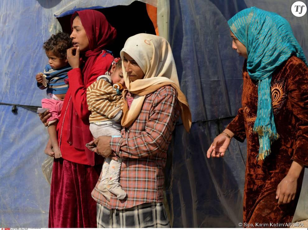 Des réfugiées irakiennes