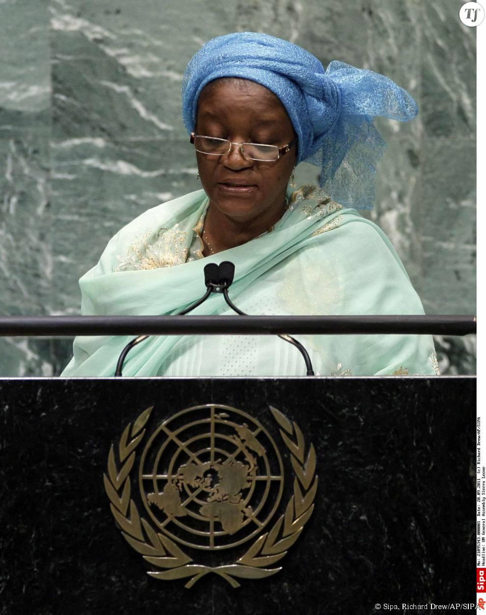 Zainab Bangura à l'ONU