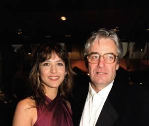 Sophie Marceau et son ex-mari le réalisateur polonais Andrzej Zulawski en 1999.