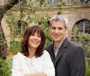 Sophie Marceau et son ex-compagnon, le producteur Jim Lemley en 2006