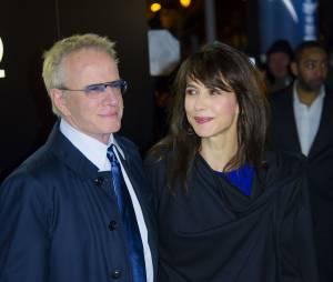 Sophie Marceau et son ex-compagnon l'acteur Christophe Lambert en janvier 2014