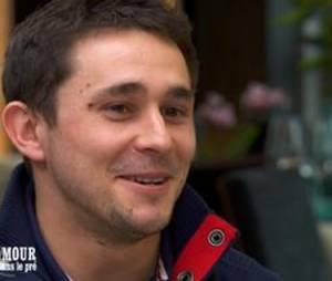 L'amour est dans le pré 2015 : qui est Adrien, le beau rugbyman, prétendant de Claire ?