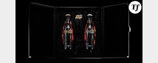 Coca-Cola : Une bouteille en pierres précieuses signée Daft Punk