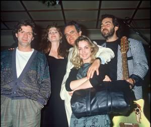 Guy et Emmanuelle Béart en 1988 avec Daniel Auteuil