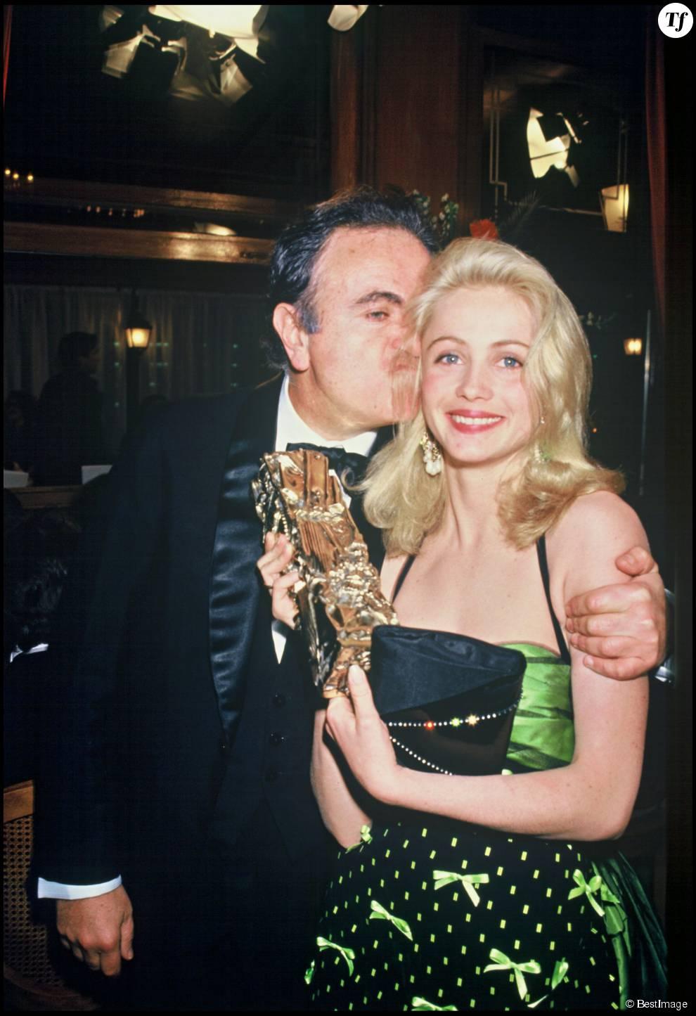 Guy et Emmanuelle Béart aux César en 1987