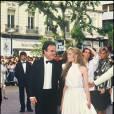 Guy et Emmanuelle Béart à Cannes en 1985