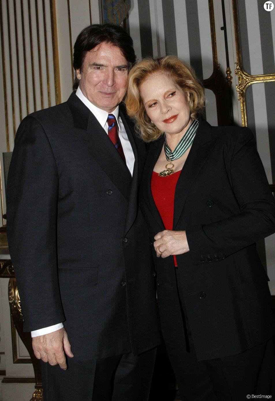 Sylvie Vartan et son mari Tony Scotti en 2011
