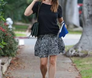 Jennifer Garner se rend chez le coiffeur à Beverly Hills, le 10 septembre 2015