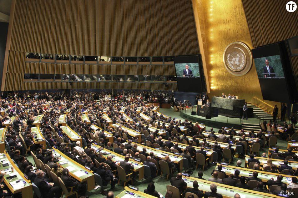Assemblée générale de l'ONU.